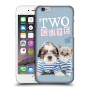 OFFICIAL STUDIO PETS QUOTES Two Cute Hard Back Case for Apple iPhone 6 / 6s (9_F_1DF70)
