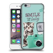 OFFICIAL STUDIO PETS QUOTES Smile Hard Back Case for Apple iPhone 6 / 6s (9_F_1DF72)