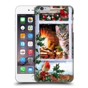 OFFICIAL THE MACNEIL STUDIO CHRISTMAS PETS Tabby Cat Hard Back Case for Apple iPhone 6 Plus / 6s Plus (9_10_1D544)
