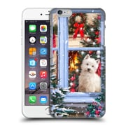 OFFICIAL THE MACNEIL STUDIO CHRISTMAS PETS Dog At Window Hard Back Case for Apple iPhone 6 Plus / 6s Plus (9_10_1D53F)