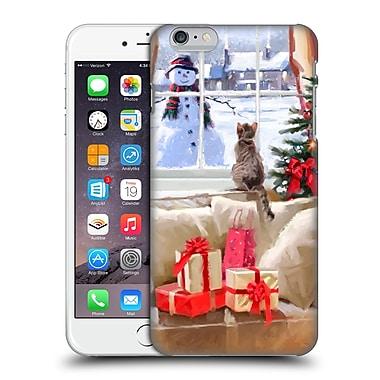 OFFICIAL THE MACNEIL STUDIO CHRISTMAS PETS Cat At Window Hard Back Case for Apple iPhone 6 Plus / 6s Plus (9_10_1D53D)
