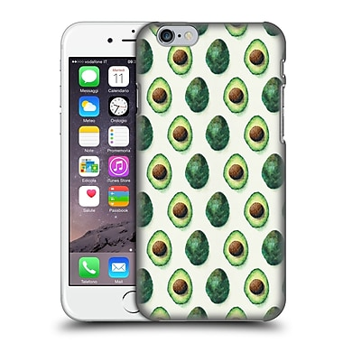 OFFICIAL TRACIE ANDREWS PATTERNS 2 Avocados Hard Back Case for Apple iPhone 6 / 6s (9_F_1D8EE)