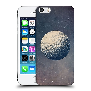 OFFICIAL TRACIE ANDREWS SPACE Moon Hard Back Case for Apple iPhone 5 / 5s / SE (9_D_1A6D5)