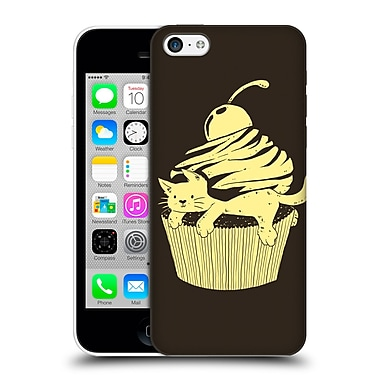 OFFICIAL TOBE FONSECA ANIMALS 2 Cupcat Cutecake Hard Back Case for Apple iPhone 5c (9_E_1B521)