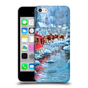 OFFICIAL THE MACNEIL STUDIO SANTA CLAUS Flying Hard Back Case for Apple iPhone 5c (9_E_1D555)