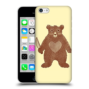 OFFICIAL TOBE FONSECA ANIMALS 2 I Love You Bear Hard Back Case for Apple iPhone 5c (9_E_1B522)