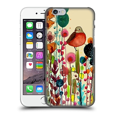 OFFICIAL SYLVIE DEMERS FLOWERS Fiesta Hard Back Case for Apple iPhone 6 / 6s (9_F_1BAD2)