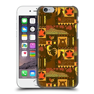OFFICIAL TOBE FONSECA PATTERNS Fall Square Hard Back Case for Apple iPhone 6 / 6s (9_F_1AA19)