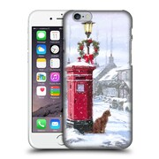 OFFICIAL THE MACNEIL STUDIO WINTER WONDERLAND Cat And Postbox Hard Back Case for Apple iPhone 6 / 6s (9_F_1D55E)
