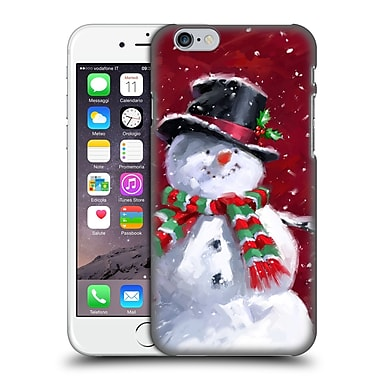 OFFICIAL THE MACNEIL STUDIO WINTER WONDERLAND Snowman's Face Hard Back Case for Apple iPhone 6 / 6s (9_F_1D567)