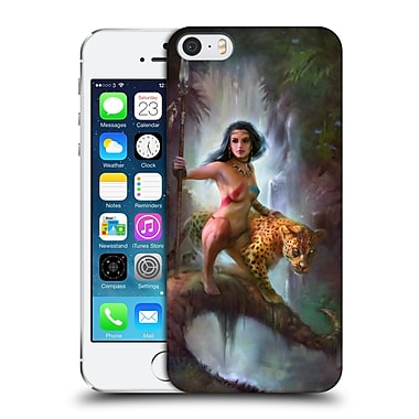 OFFICIAL SHANNON MAER FANTASY ART 2 Jungle Queen Hard Back Case for Apple iPhone 5 / 5s / SE (9_D_1A573)
