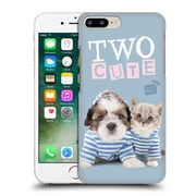 OFFICIAL STUDIO PETS QUOTES Two Cute Hard Back Case for Apple iPhone 7 Plus (9_1FA_1DF70)
