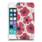OFFICIAL TRACIE ANDREWS FLORA AND FAUNA Raspberry Hard Back Case for Apple iPhone 5 / 5s / SE (9_D_1A6BA)