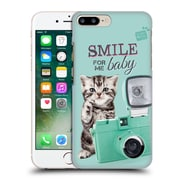 OFFICIAL STUDIO PETS QUOTES Smile Hard Back Case for Apple iPhone 7 Plus (9_1FA_1DF72)
