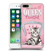 OFFICIAL STUDIO PETS QUOTES Queen Beautiful Hard Back Case for Apple iPhone 7 Plus (9_1FA_1DF73)