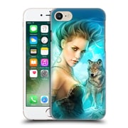 OFFICIAL SHANNON MAER FANTASY ART Lady Wolf Hard Back Case for Apple iPhone 7 (9_1F9_1A55F)