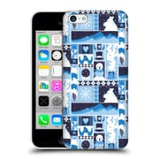 OFFICIAL TOBE FONSECA PATTERNS Winter Square Hard Back Case for Apple iPhone 5c (9_E_1AA1D)