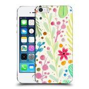 OFFICIAL SYLVIE DEMERS FLOWERS Les Prairies Hard Back Case for Apple iPhone 5 / 5s / SE (9_D_1BAD4)