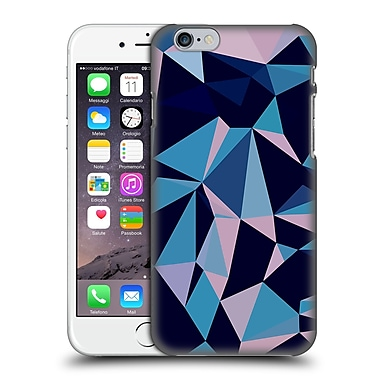 OFFICIAL SPIRES POLYGONS Blues Hard Back Case for Apple iPhone 6 / 6s (9_F_1D963)