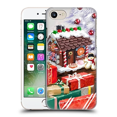 OFFICIAL THE MACNEIL STUDIO CHRISTMAS DECORS Gingerbread House Hard Back Case for Apple iPhone 7 (9_1F9_1D532)