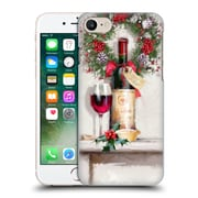 OFFICIAL THE MACNEIL STUDIO CHRISTMAS DECORS Red Wine Hard Back Case for Apple iPhone 7 (9_1F9_1D536)