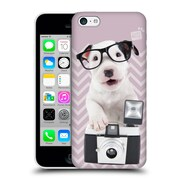 OFFICIAL STUDIO PETS PATTERNS Charly Hard Back Case for Apple iPhone 5c (9_E_1DF6C)