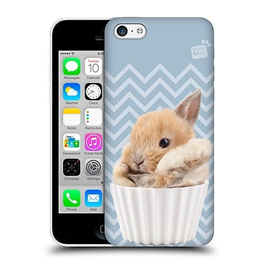 OFFICIAL STUDIO PETS PATTERNS Bunny Hard Back Case for Apple iPhone 5c (9_E_1DF6B)