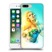 OFFICIAL SHANNON MAER ILLUSTRATIONS Blue Corset Hard Back Case for Apple iPhone 7 Plus (9_1FA_1A569)