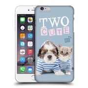 OFFICIAL STUDIO PETS QUOTES Two Cute Hard Back Case for Apple iPhone 6 Plus / 6s Plus (9_10_1DF70)