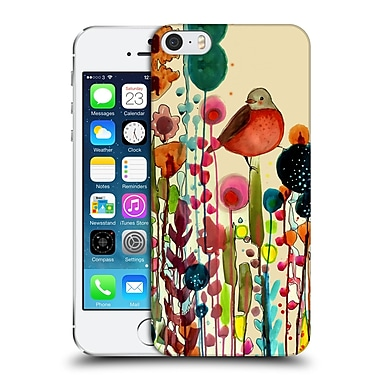 OFFICIAL SYLVIE DEMERS FLOWERS Fiesta Hard Back Case for Apple iPhone 5 / 5s / SE (9_D_1BAD2)
