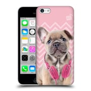 OFFICIAL STUDIO PETS PATTERNS Doggy Jay Hard Back Case for Apple iPhone 5c (9_E_1DF69)