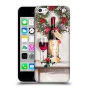 OFFICIAL THE MACNEIL STUDIO CHRISTMAS DECORS Red Wine Hard Back Case for Apple iPhone 5c (9_E_1D536)