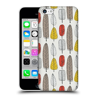 OFFICIAL TRACIE ANDREWS FLORA AND FAUNA Leaf Pattern Hard Back Case for Apple iPhone 5c (9_E_1A6BD)