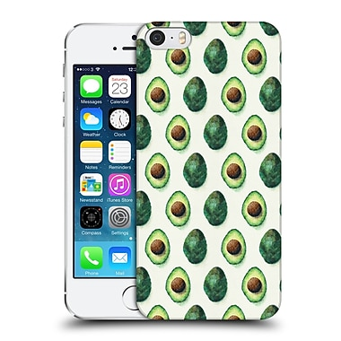OFFICIAL TRACIE ANDREWS PATTERNS 2 Avocados Hard Back Case for Apple iPhone 5 / 5s / SE (9_D_1D8EE)