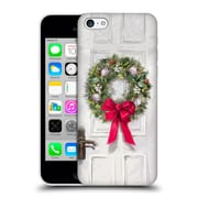 OFFICIAL THE MACNEIL STUDIO CHRISTMAS DECORS White Wreath Hard Back Case for Apple iPhone 5c (9_E_1D539)