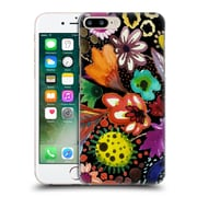 OFFICIAL SYLVIE DEMERS FLOWERS Eclosion Black Linen Hard Back Case for Apple iPhone 7 Plus (9_1FA_1BAD1)