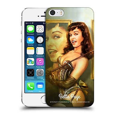 OFFICIAL SHANNON MAER BETTIE PAGE Gallery Hard Back Case for Apple iPhone 5 / 5s / SE (9_D_1C919)