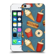 OFFICIAL TRACIE ANDREWS PATTERNS Fast Food Hard Back Case for Apple iPhone 5 / 5s / SE (9_D_1A6CF)