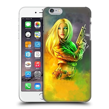 OFFICIAL SHANNON MAER ILLUSTRATIONS Sci Fi Girl Hard Back Case for Apple iPhone 6 Plus / 6s Plus (9_10_1A56C)