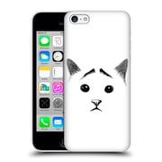 OFFICIAL TUMMEOW CATS IN BLACK AND WHITE Eyebrows Hard Back Case for Apple iPhone 5c (9_E_1BA9A)