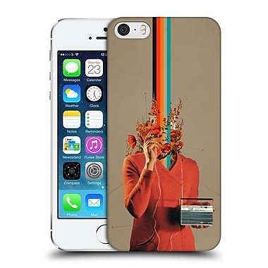 OFFICIAL FRANK MOTH VINTAGE Musicolour Hard Back Case for Apple iPhone 5 / 5s / SE (9_D_1C510)