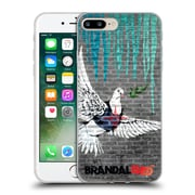 OFFICIAL BRANDALISED BANKSY DRIPS Bulletproof Dove Soft Gel Case for Apple iPhone 7 Plus (C_1FA_18E02)