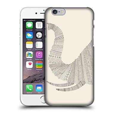 OFFICIAL FLORENT BODART ANIMAL LINES Elephant Beige Hard Back Case for Apple iPhone 6 / 6s (9_F_1AF78)