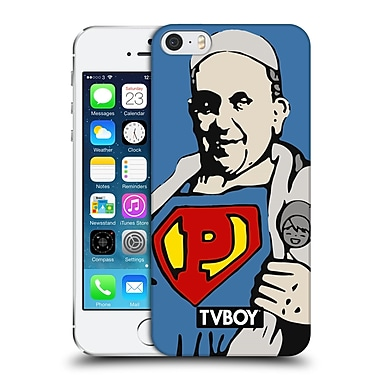 OFFICIAL TVBOY URBAN CELEBRITIES Super Pope Hard Back Case for Apple iPhone 5 / 5s / SE (9_D_19A72)