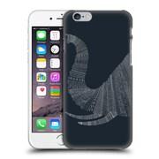 OFFICIAL FLORENT BODART ANIMAL LINES Elephant Blue Hard Back Case for Apple iPhone 6 / 6s (9_F_1AF7A)