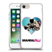 OFFICIAL BRANDALISED BANKSY WALL ART Tank On Tank Soft Gel Case for Apple iPhone 7 (C_1F9_19A4E)