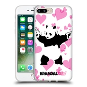 OFFICIAL BRANDALISED BANKSY GRAFFITI Panda Guns Soft Gel Case for Apple iPhone 7 Plus (C_1FA_18DD1)