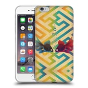 OFFICIAL ANGELO CERANTOLA ANIMALS You And Me Both Soft Gel Case for Apple iPhone 6 Plus / 6s Plus (C_10_1A391)
