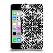 OFFICIAL AMY SIA TRIBAL Black And White Soft Gel Case for Apple iPhone 5c (C_E_1AB6F)