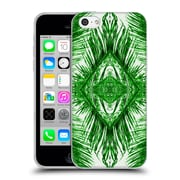 OFFICIAL AMY SIA TROPICAL Palm Green Soft Gel Case for Apple iPhone 5c (C_E_1AB79)
